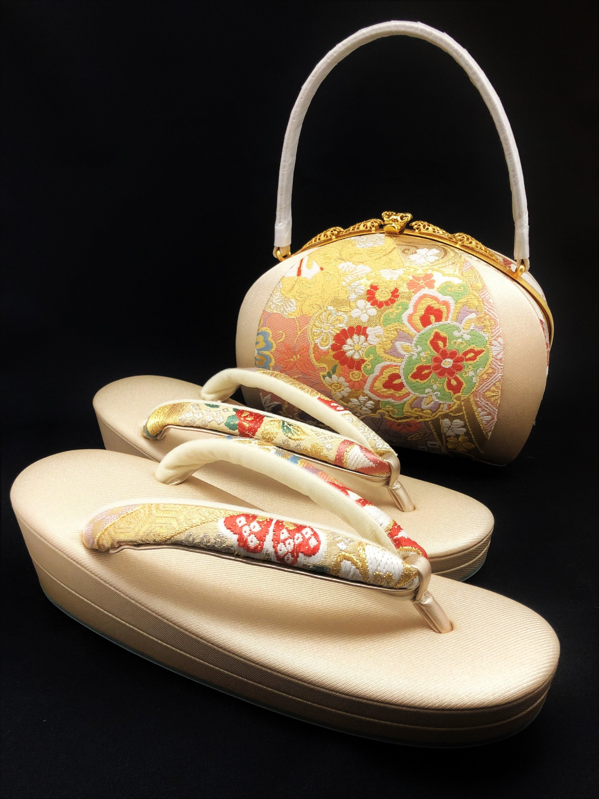 [女物]フォーマル草履&バッグセット