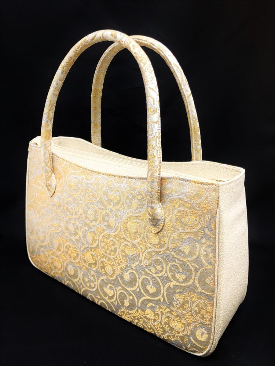 [女物]金襴手提げバッグ