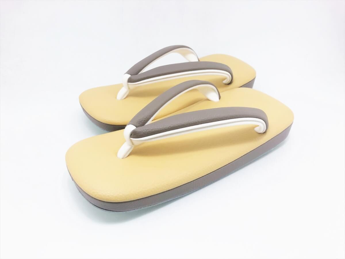 [男物]伝統色 草履 「シボン-SIBON-」(L) くちなし